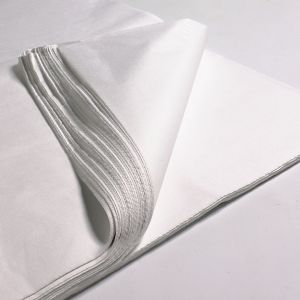 20 x 26 Acid Free Tissue Paper WHITE